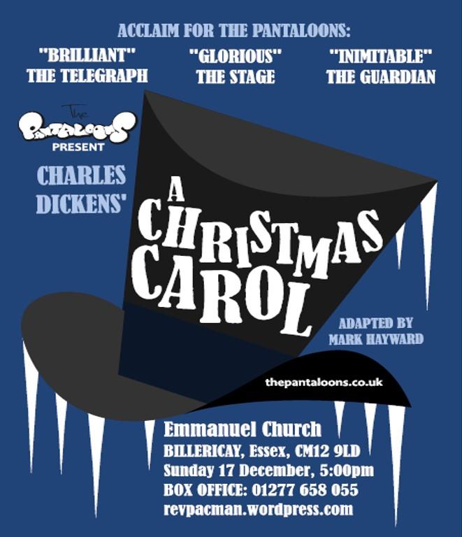 A Christmas Carol Poster.Live At Emmanuel The Pantaloons A Christmas Carol Revpacman