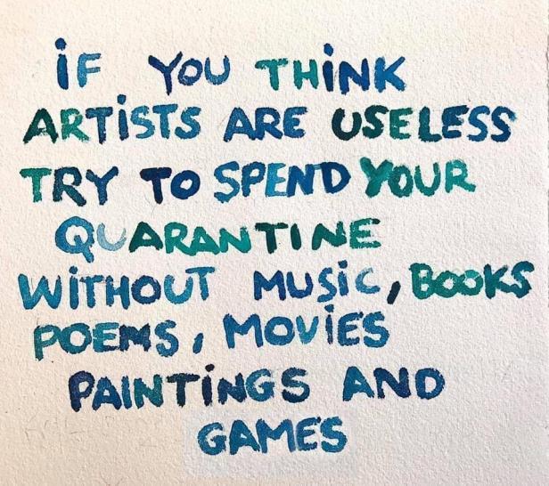 Useless artists