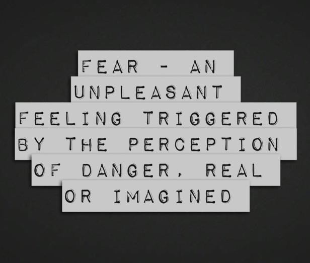 fear-definition